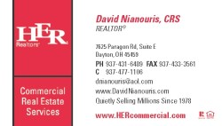HER Commercial Business Card Front